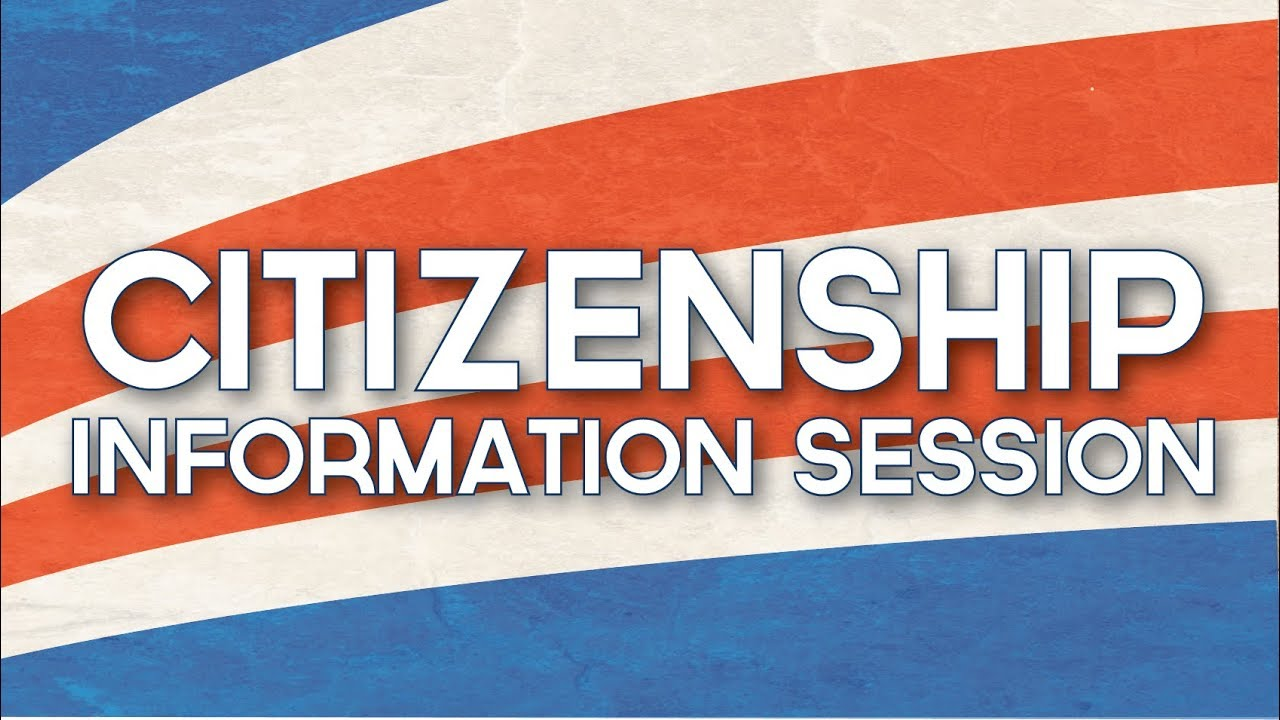 Citizen Info Session
